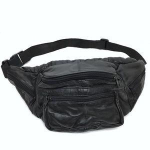 VINTAGE Fanny Pack Waist Bag Patchwork 80s 90s